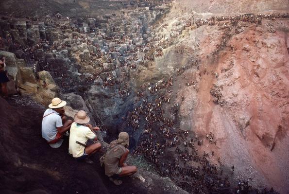 Brazil, Serra Pelada Gold Mine, Mine Crater | Earth's Resources