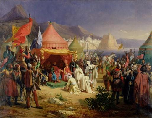 The Taking of Tripoli, April 1102, 1842