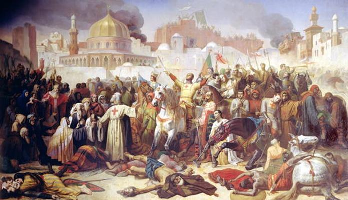 Taking of Jerusalem by the Crusaders, 15th July 1099, 1847