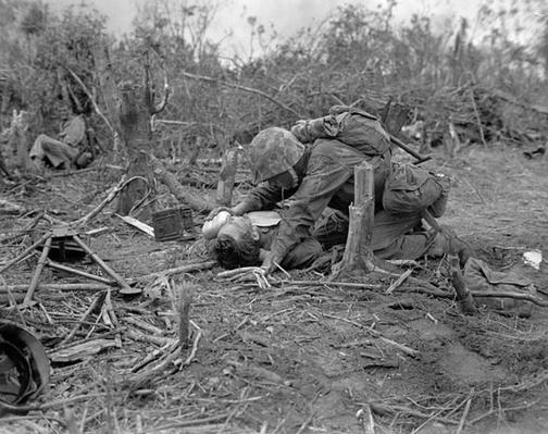 Peleliu: Waiting for a Medic | Ken Burns: The War