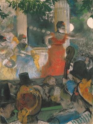 Cafe Concert at Les Ambassadeurs, 1876-77