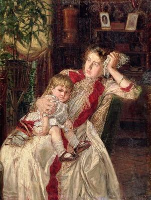 Family Quarrel, 1890