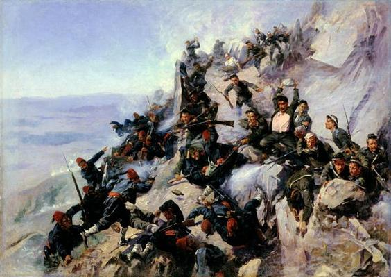 The Defence of the 'Eagle Aerie' on the Shipka in 1877, 1893
