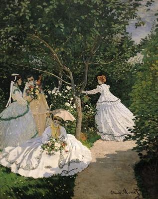 Women in the Garden, 1866