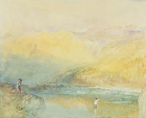 On the Mosell, near Traben Trarabach, c.1841