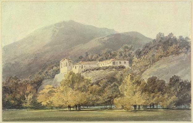 Santa Lucia, A Convent near Caserta, c.1795