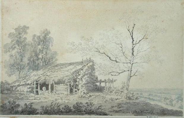 Landscape with Barn, c.1795