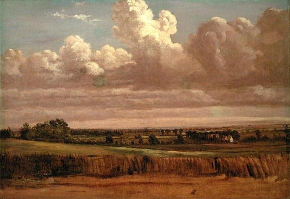 Landscape with Wheatfield, c.1850s
