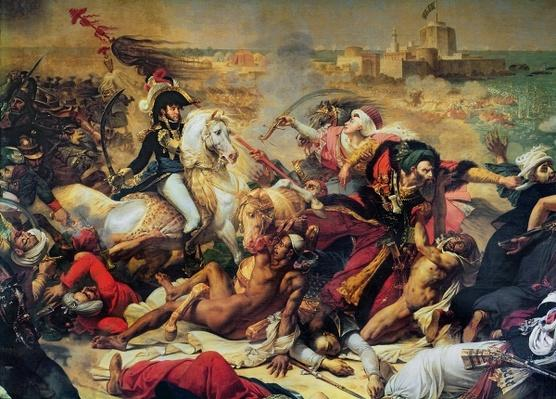 The Battle of Aboukir, 25th July 1799