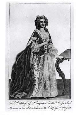 The Duchess of Kingston