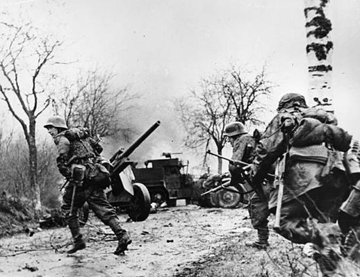 Germans Race across the Road | Ken Burns: The War