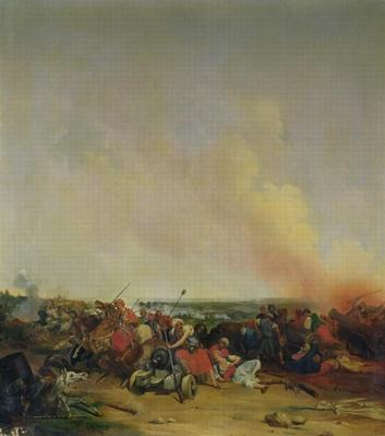 Battle of Sidi-Ferruch, 14th June 1830