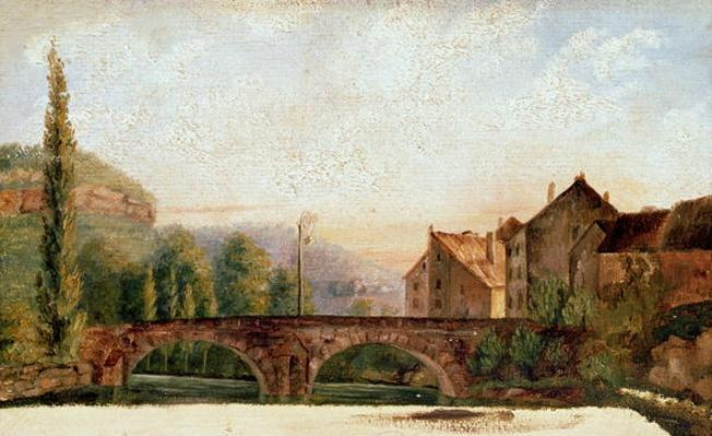 The Pont de Nahin at Ornans, c.1837