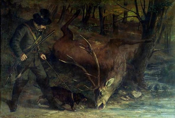 The Death of the Stag, 1859