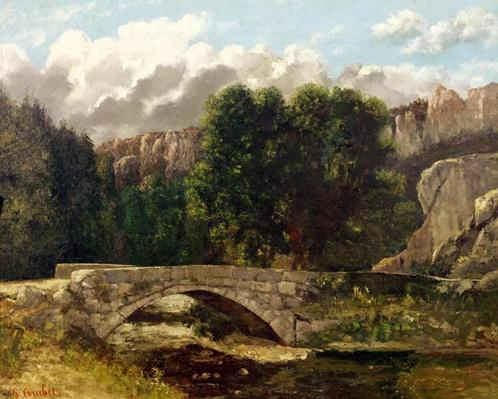 The Pont de Fleurie, Switzerland, 1873