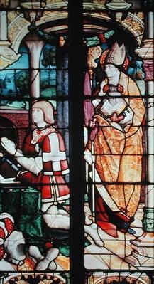 Window depicting Philibert II