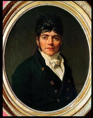 medallion Portrait of the Comte Esteve, 1804