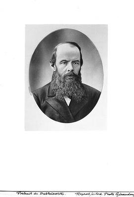Portrait of Fyodor Mikhailovich Dostoyevsky