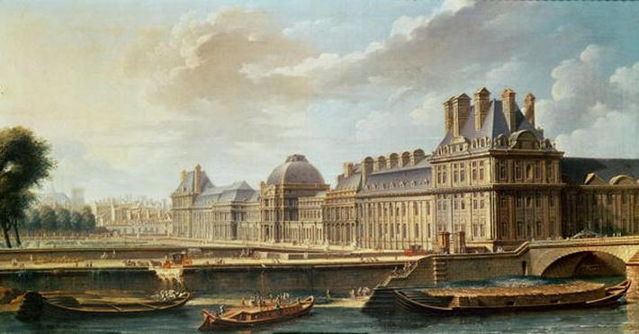 The Palace and Garden of the Tuileries, 1757