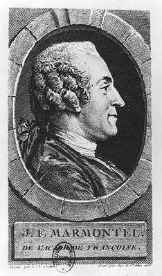 Portrait of Jean Francois Marmontel
