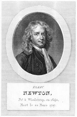 Portrait of Sir Isaac Newton