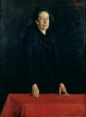 Portrait of Louise Clemence Michel
