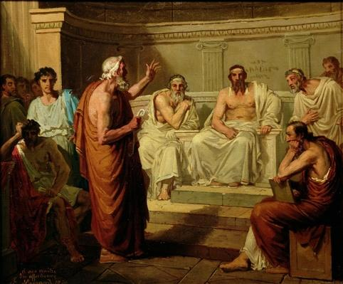 Sophocles Accused by his Sons, 1860