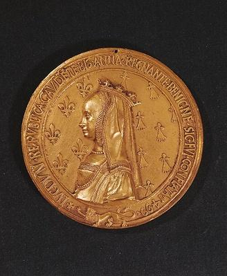 Medal depicting Anne of Brittany
