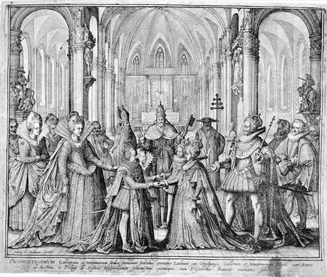 The Double Marriage in 1615 of Louis XIII