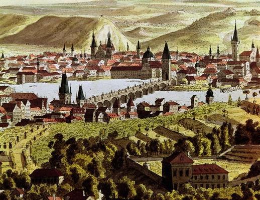 View of Prague