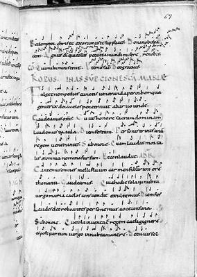 Ms 18 fol.69 Assumption from 'Troparium'