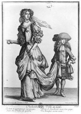 The Summer city dress, 1678