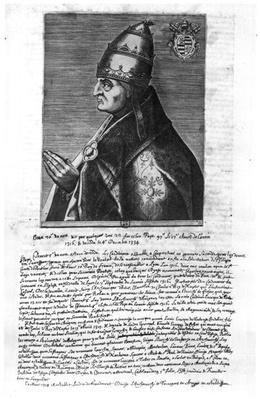 Portrait of Pope John XXII