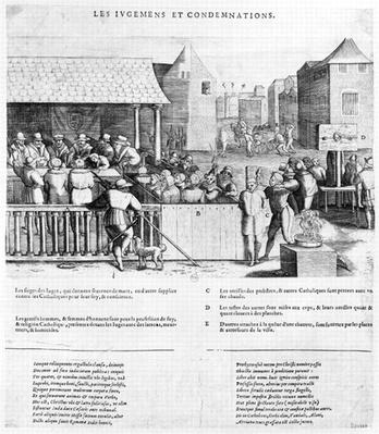 Acts and Violence of the Protestants, 1562