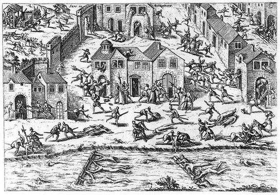 The Massacres of Sens, 12th April 1562