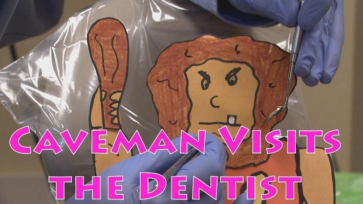 Eat Healthy Foods: Caveman Visits a Dentist