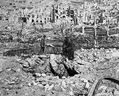 Monte Cassino Rubble | Ken Burns: The War