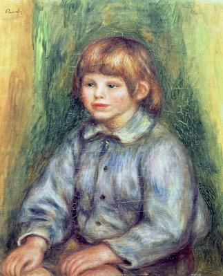 Seated Portrait of Claude Renoir