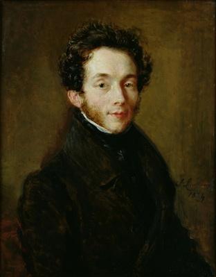 Portrait of Carl Maria Friedrich Ernst von Weber