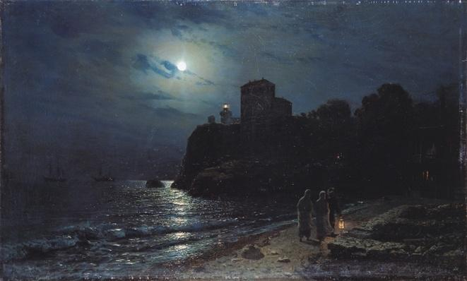 Moonlight on the Edge of a Lake, 1870