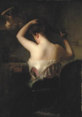 Woman Arranging her Hair, 1903