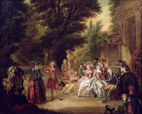 The Minuet under the Oak Tree, 1787