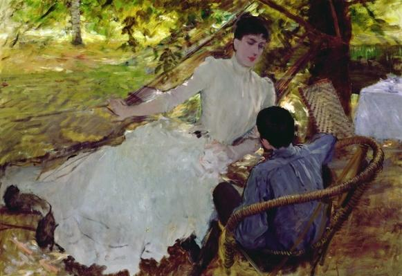 In the Hammock II, 1884