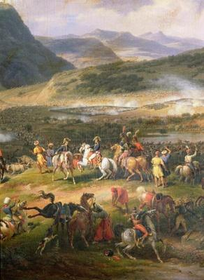 Battle of Mount Thabor, 16th April 1799, detail of Napoleon and his Staff, 1808