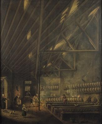 Interior of a Workshop, 1777