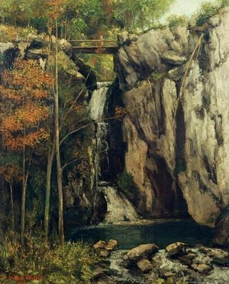 The Chasm at Conches, 1864