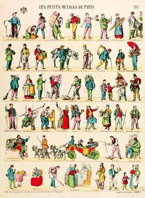 Parisian Trades, Imagerie d'Epinal