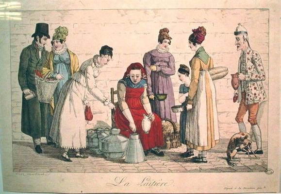 The Milkmaid, 1815-30