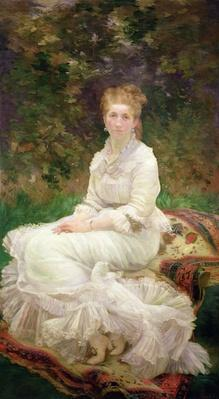 The Woman in White, c.1880