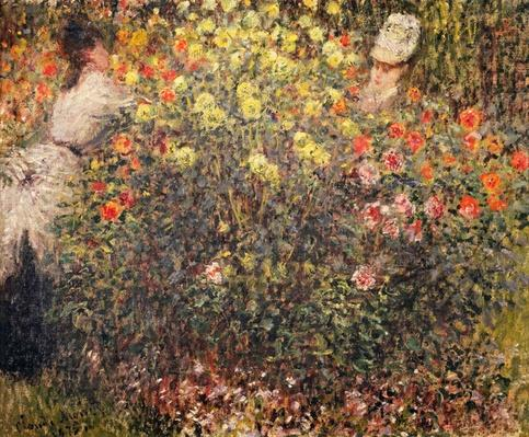 Women in the Flowers, 1875
